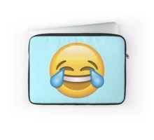 Laugh Emoji Laptop Sleeve