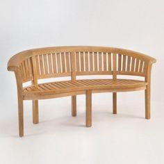 Monet A-Grade Teak Ergonomic Bench