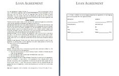 Printable Loan Agreement Form Printable Sample Divorce Template Form  Laywers Template Forms .