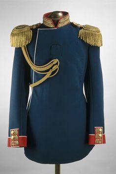 Costume de NICOLAS II, lors de son couronnement.