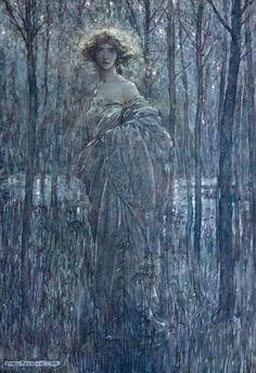 Helena of Midsummer's Night Dream  Arthur Rackham