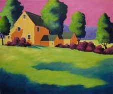 Nova Scotia artists at Secord Gallery, 6301 Quinpool Rd. Here: Jeanne Aisthorpe-Smith Dartmouth Nova Scotia, Artists, Gallery, House, Painting, Paintings, Haus, Draw, Homes