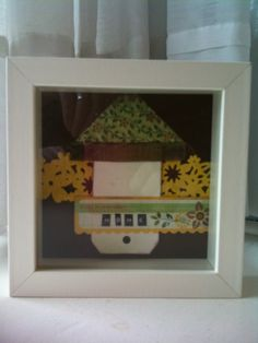 How-To: Make a PaperCraft Picture  my scraps