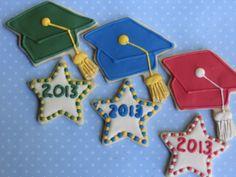 1 Doz Graduation Caps Decorated Cookies  Party by LovinOvenCookies, $34.95