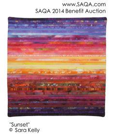 Art quilt by Sara Kelly