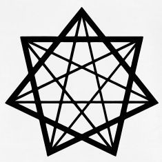 7,-heptagram,-seven-heptagram-star,-seven-star,-alchemy,-gothic,-goth,-witch,-witch-magic,-mystic,-Wicca,-occult,-devil,-pan,-pagan-T-Shirts...