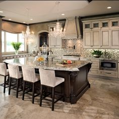 """13.4k Likes, 275 Comments - Interior Design & Home Decor (@inspire_me_home_decor) on Instagram: """"One of my favorite kitchens posted on this page..."""""""
