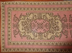 Cross Stitch Patterns, Crochet Patterns, Stitch 2, Cross Stitching, Diy And Crafts, Vintage World Maps, Bohemian Rug, Rugs, Design