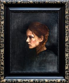 "Barbara Hangan:""Paper Heart"" Contemporary Art  Painting  Oil Painting  Portrait  Vintage Frame Amazing Paintings, Amazing Art, Modern Art, Contemporary Art, Life Drawing, Botanical Art, Animal Paintings, Love Art, Vintage Art"