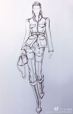 Fashion design #fashionsketches,