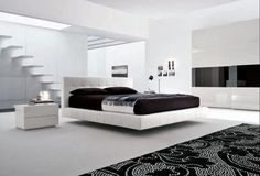 Black and White Bedroom Decoration