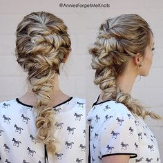 """""""I'm so excited to finally share this tutorial with you guys because I reeeeally Love this hairstyle! All it is are twists, and a lot of them! I also show…"""""""