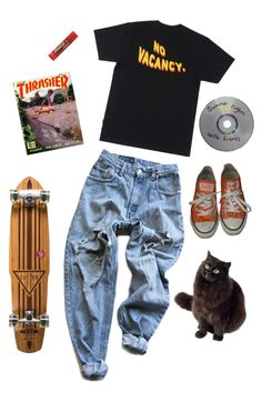 """""""90's angsty teen"""" by jessythebabe ❤ liked on Polyvore featuring Levi's, Converse and Element"""
