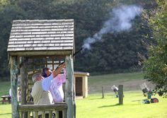 Our delegates had the opportunity to experience the clay pigeon shooting @fshampshire... Another exciting activity @connectionsl  #travelweekly