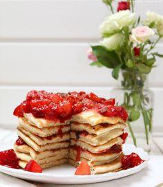 Zimt-Pancakes mit Pflaumen   whatinaloves.com