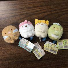 Amazon.com: San-X Corner Sumikko Gurashi Plush Doll Mini Figure Stuffed Toy 4pcs - Theme: Hot Spring Spa Cosily Yugomori - MP96901 (You will receive 4pcs (No.1-4) from image shown): Toys & Games  -  $24.90 + SH