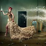 For the birds. With melanie dovah kim, #mua Nikki Tempelaars. #hairstylist Anatalya #design Dennis Diem #highheels #whitedress #necklace #origami #gold #flashbackfriday #mirror #couture #fashion #contemporaryart #fineart #surreal #redhair #beautiful #muse #caption #vintage #retro #pretty #cool #photoshoot #real #awesome