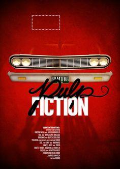 https://flic.kr/p/aFWUTr | FP.001 Pulp Fiction | poster per a la 1a edició de www.filmousposters.com  poster for the first edition of www.filmousposters.com
