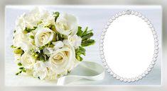 Wedding Floral Transparent Frame
