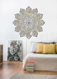 Mur Petit ELIZABETH Dentelle Meubles Mur Sol Pochoir Pour Peinture