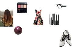"""bowling in a dress on a date"" by mindiblue2 ❤ liked on Polyvore"