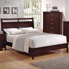 Ian Queen Platform Bed by Crown Mark