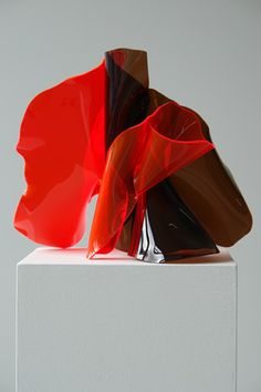 Anne Marie May - untitled marquette, 2007 perspex