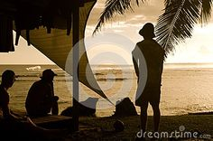 Watching For Surf in Samoa -  Download From Over 26 Million High Quality Stock Photos, Images, Vectors. Sign up for FREE today. Image: 44970226