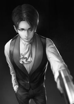 levi ackerman with different hairstyles - Google Search