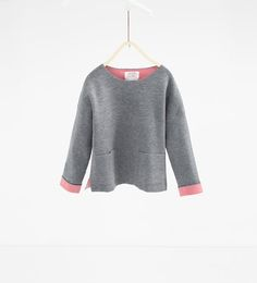Image 1 of Sweater with pockets from Zara Aw17, Pullover, Zara United States, Girls 4, Pulls, Sweaters, Girl Outfits, Style Inspiration, Blazer