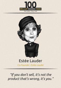 Estee Lauder - Inspirational Quote