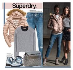"""The Cover Up – Jackets by Superdry: Contest Entry"" by spenderellastyle ❤ liked on Polyvore featuring Superdry, White House Black Market, Fuji and Balenciaga"