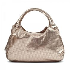 Susan Nichole Vegan Handbag Style #109 - Brooklyn in Metallic Gold