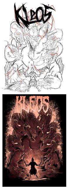 KLEOS by Tim Hastings, via Behance