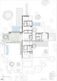 The House Of Secret Gardens,First Floor Plan