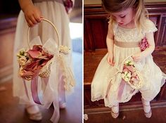 sweet flower girl, image by Lola Rose Photography