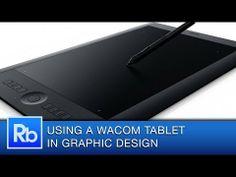 Using a Wacom Tablet as a Graphic Designer- If you're a Graphic Designer and Digital Artist then using a Wacom Tablet can really help you improve your speed and precision. Visit http://wacom.com