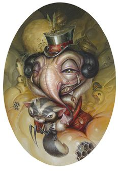 """The Thought Collector 2010 by Greg """"Craola"""" Simkins"""