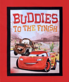 Springs-Creative Disney Cars Buddies to the Finish Panel