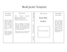 TheBookDesigner-jacket-template | Project #3 | Pinterest | Book ...