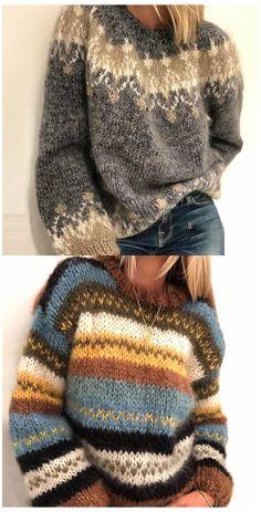 Skandinavian Fashion, Punto Fair Isle, Cool Outfits, Fashion Outfits, Womens Fashion, Oversized Pullover, Fair Isle Knitting Patterns, Fair Isle Pattern, Fair Isles