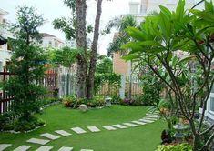 Thiết kế sân vườn biệt thự Sân Vườn Nhỏ Đẹp Xinh Xắn