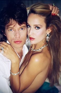 Jerry Hall, Mick Jagger, Bianca Jagger, The Rolling Stones, Georgia May Jagger, Ronnie Wood, Rod Stewart, David Bowie, Estilo Cool