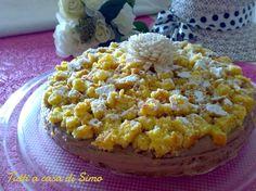 Auguri a tutte le donne!! Se volete festeggiare con una torta mimosa un po' diversa, seguite la mia ricetta ed otterrete una mimosa nutella e arancia! La b