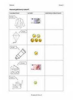 Cito - rekenen - geld - Geld tekort 01