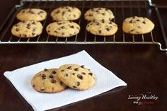 Soft and Chewy Chocolate Chip Cookies (Gluten Free, Paleo)
