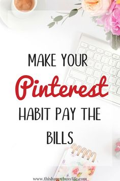Pay off your debt and work from home by using affiliate marketing on Pinterest. A great side hustle with no blog required. Create passive income - perfect for a stay at home mom.  <3