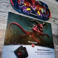 Im dritten Anlauf die Hassgeburt besiegt. Im True Solo. Bisher echt geil. #AeonsEnd #deckbuilder #deckbau #brettspiel #brettspiele #frostedgames #fb Video Game, Games, Instagram, Cover, Artwork, Enemies, Board Games, Adventure, Rage