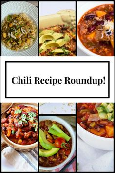 32 Chili Recipes from food bloggers and Registered Dietitians! Vegan, vegetarian, beef, chicken, turkey, pork & slow cooker options!   Lindsey Pine    TastyBalance Nutrition