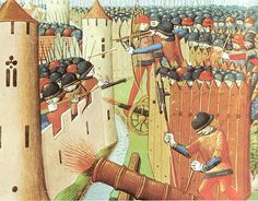 Siege of Orléans in 1428 (Vigiles de Charles VII, 15th century)